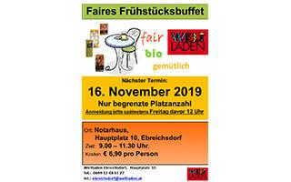 Faires Frühstücksbuffet